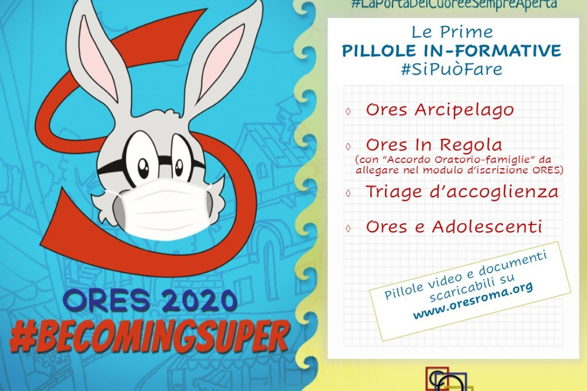 Pillole in-formative OrEs 2020